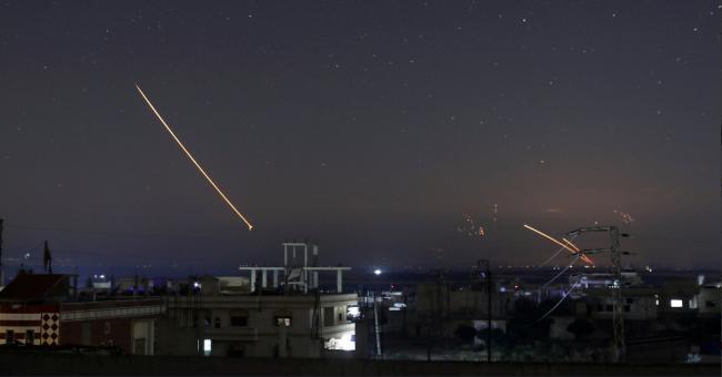 الصورايخ السورية تتساقط على الجولان المحتل