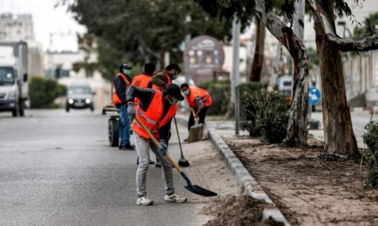 منظمات أهلية تدعو لتوفير الحماية الاجتماعية للفئات الأكثر تضررا بسبب تداعيات جائحة كورونا على العمال في غزة