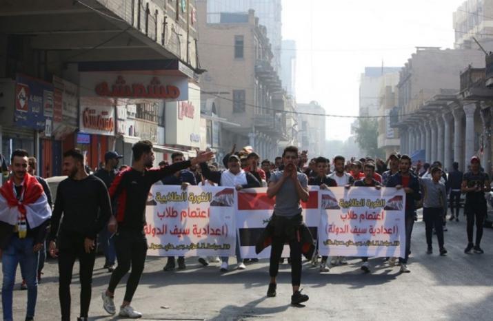 استمرار الاحتجاجات في العراق ومطالبات برحيل عبدالمهدي