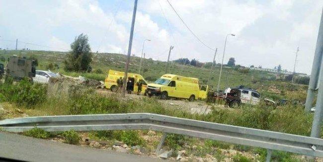 إصابة شاب بجروح حرجة عقب إطلاق قوات الاحتلال النار عليه جنوب نابلس