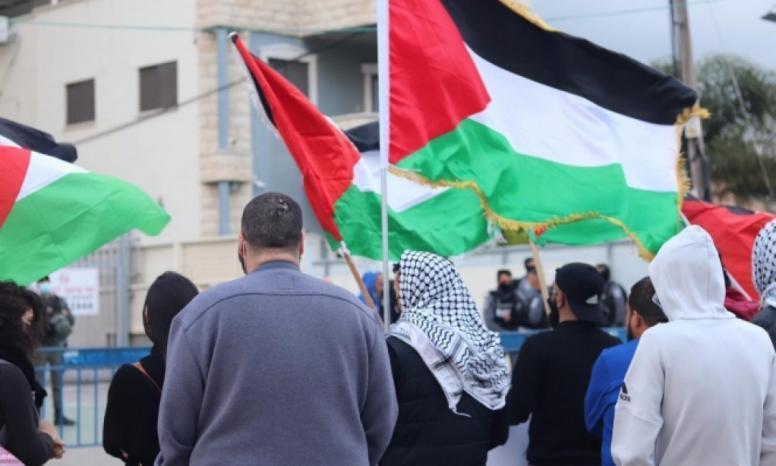 مجد الكروم: شرطة الاحتلال تقمع تظاهرة ضد العنف والجريمة وتعتقل 4 شبان