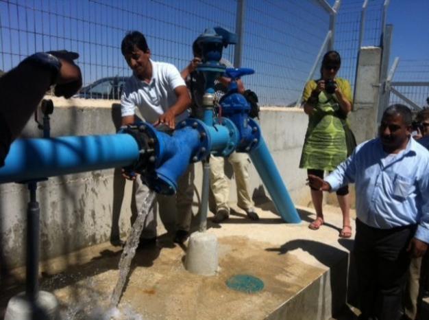 استئناف عمل لجنة المياه المشتركة