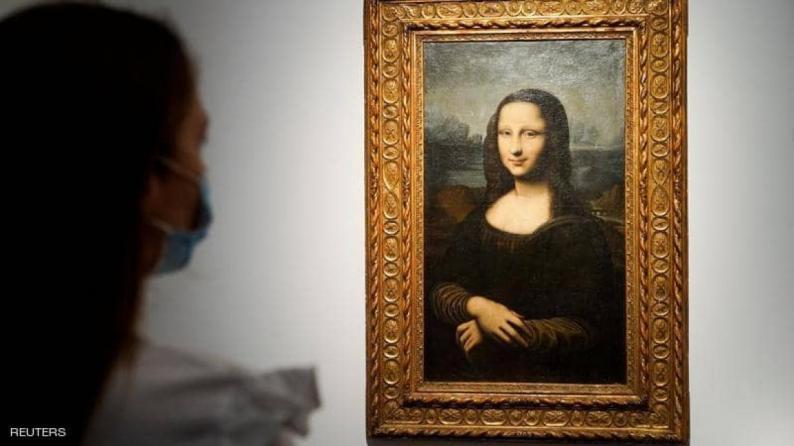 """بيع لوحة مقلدة للموناليزا بـ""""مبلغ خيالي"""""""
