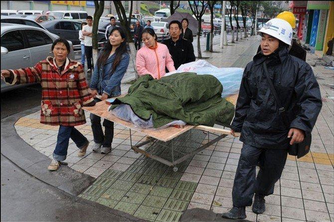 زلزال بقوة 7 درجات يضرب الصين ويخلف 72 قتيلا