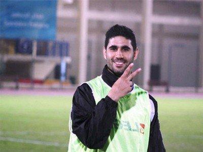 اللاعب الفلسطيني زعترة يحترف في الدوري الايراني