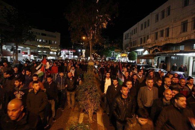مظاهرات في الداخل الفلسطيني تنديداً بمجزر الاحتلال ضد غزة ونصرة للقدس