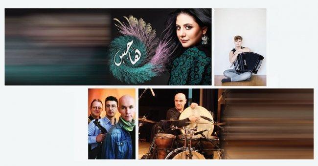 الفنانون سناء موسى وأحمد الخطيب ويوسف حبيش والأصدقاء السوديون ينهون استعداداتهم لتقديم عروضهم في فلسطين والأردن والسويد