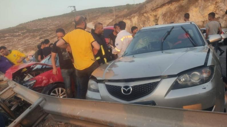 وفاة سيدة وإصابة ثلاثة أخرين بحادث سير في جنين