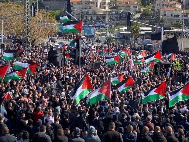 الشعبية: جماهير الداخل المحتل ستظل خزان لا ينضب لانتفاضة وثورة شعبنا على امتداد الوطن المحتل