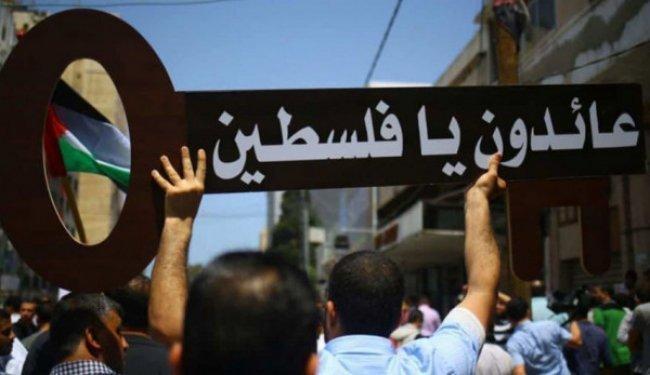 """القوى الوطنية لوطن: المظاهرات ستجوب شوارع المحافظات عدة أيام للمطالبة بـ""""حق العودة"""""""