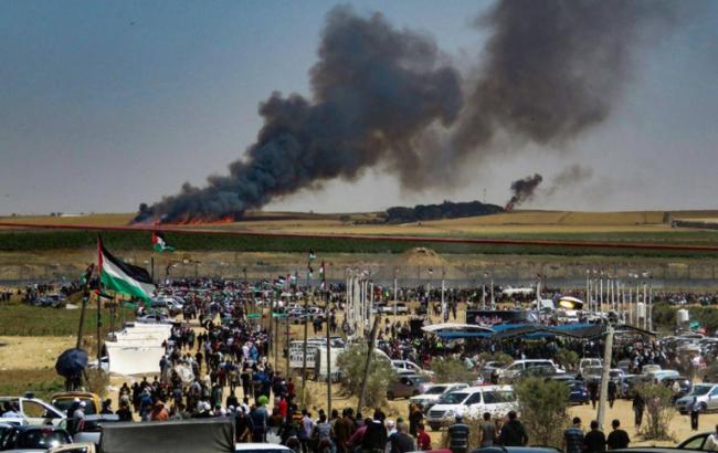 اندلاع حريقين في مستوطنات غلاف غزة