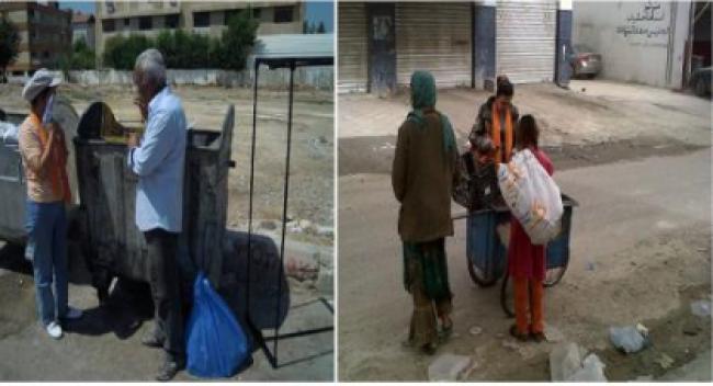 ريبورتاج: عقبة نظيفة من البلاستيك.. بيئيون من الأردن وفلسطين يعيشون تجربة بيئية فريدة