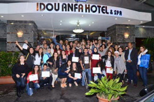 التنمية والتراث تنهي مشاركتها بأعمال المؤتمر الشبابي الاورومتوسطي في المغرب