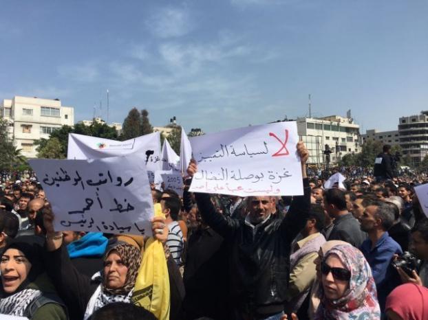 المجتمع المدني تطالب بتوفير الحماية للمشاركين في حراك رفع العقوبات عن غزة والحفاظ على السلم الأهلي