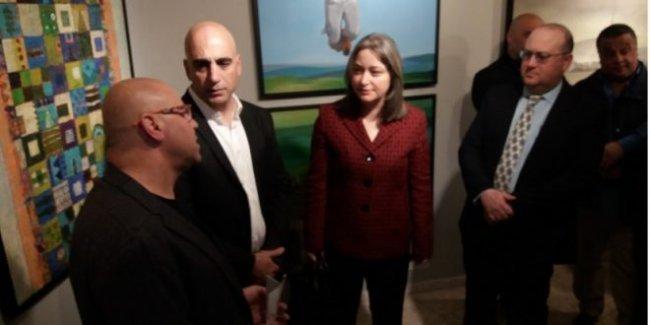 زاره 50 الف سائح : فندق وايلد اوف هوتيل :بانكسي يحتفل بسنويته الاولى عبر اطلاق معرض لعشرين فنان فلسطيني