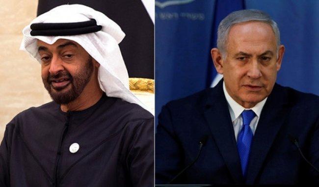 محادثات سرية بين نتنياهو وبن زايد