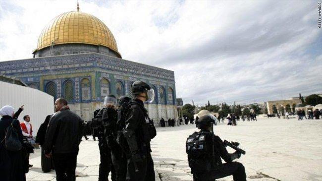 الرئاسة تحذر من مغبة المساس بالوضع القائم في المسجد الأقصى