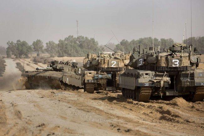 توغل محدود لآليات الاحتلال وسط غزة