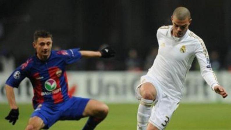 بالصور.. تعادل ريال مدريد مع سسكا موسكو
