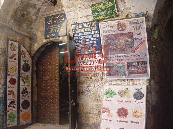 خاص لـ 'وطن': بالصور.. عطارة بريك في حارة الياسمين 400 عام من التراث النابلسي
