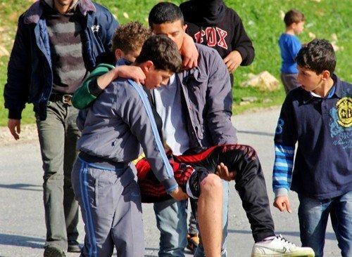 إصابة ثلاث مواطنات وصحفيين في النبي صالح