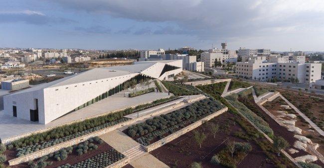 المتحف الفلسطيني يفوز بمسابقة جوائز الشرق الأوسط وشمال أفريقيا للأبنية الخضراء