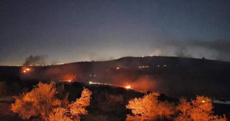 """نابلس: مواجهات مع الاحتلال خلال فعاليات """"الإرباك الليلي"""" على جبل صبيح"""