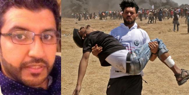 """كاتب سعودي: الفلسطينيون الذين استشهدوا اليوم """"مغرر بهم""""!"""