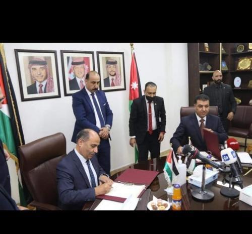 اطلاق الشركة الفلسطينية الاردنية لتسويق المنتجات الزراعية