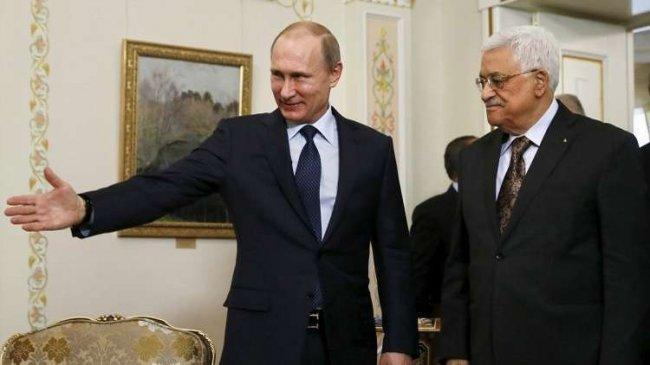 الرئيس عباس يلتقي بوتين في موسكو