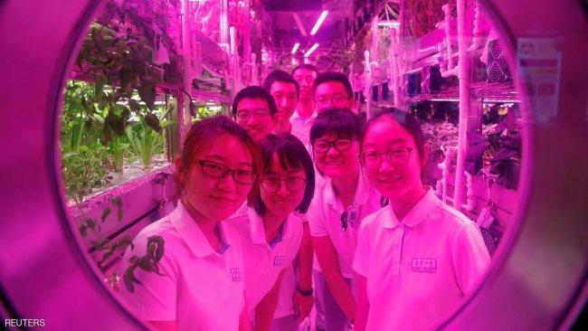 الصين تصمم محطة فضاء لا يحتاج روادها لأي امتدادات غذائية لفترة طويلة