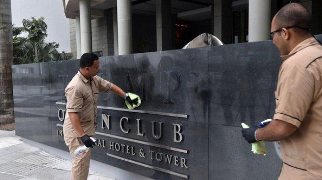 مؤسسة ترمب تلجأ للقضاء بعد إزالة اسم الرئيس عن فندق