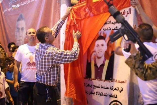 بعد هدمه من الاحتلال.. إعادة تشييد النصب التذكاري للشهيد محمد لافي