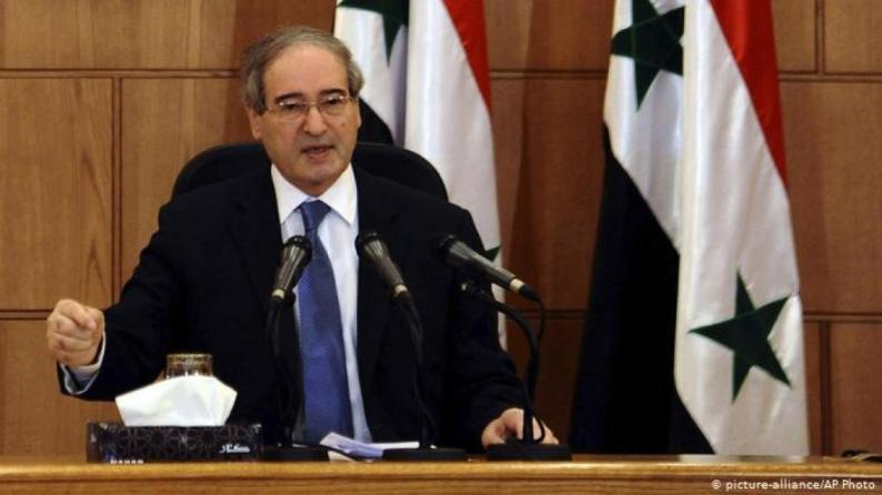 الرئيس السوري يعين فيصل المقداد وزيراً للخارجية