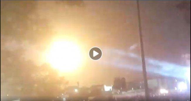 """شاهد الفيديو.. صواريخ المقاومة في سماء مستوطنة """"سديروت"""""""