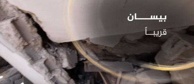 فيديو.. بيسان تسع ساعات تحت الانقاض