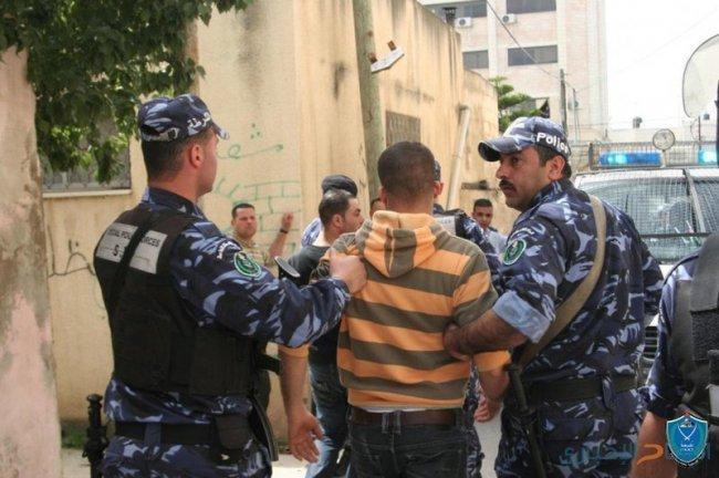 شرطة قلقيلية تقبض على مطلوب محكوم 3 سنوات