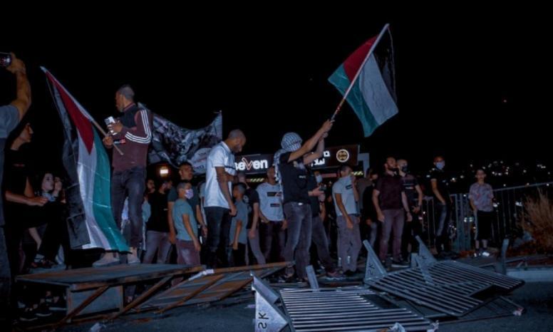أم الفحم تتظاهر ضد الجريمة وتواطؤ شرطة الاحتلال