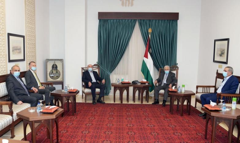 خلال استقباله رجل الأعمال صبيح المصري.. الرئيس يصدر توجيهاته بتقديم كل الدعم المطلوب لتعزيز صمود القطاع الخاص