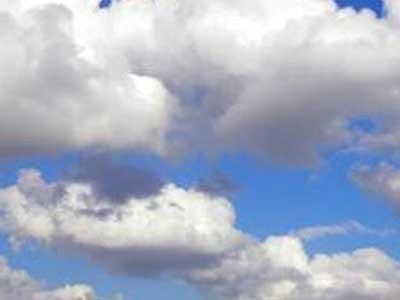 حالة الطقس: جو غائم جزئيا والفرصة مهيأة لسقوط أمطار متفرقة