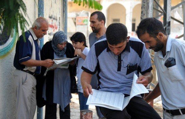 نتائج التوجيهي غدا وغزة تقاطع