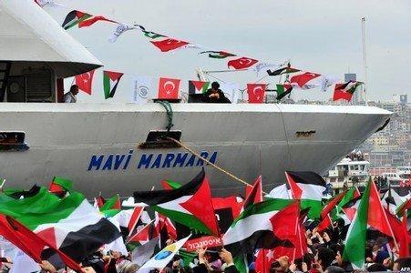 عائلات ضحايا 'مرمرة' يشترطون رفع الحصار عن غزة قبل تعويضهم