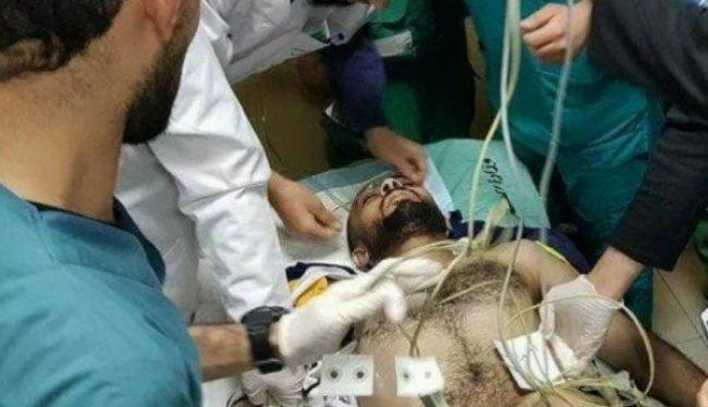 حالة الصحفي أبو حسين مستقرة