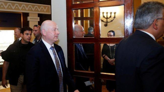 """جيسون غرينبلات: إسرائيل """"ضحية للنزاع"""" مع الفلسطينيين"""