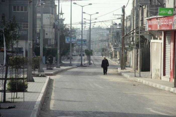 سريان منع حركة المركبات وتعطيل المؤسسات لمواجهة كورونا في غزة