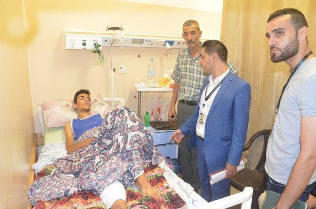 نقابة المحامين: بتر قدم الطفل سالم بسبب إهمال الإحتلال الطبي