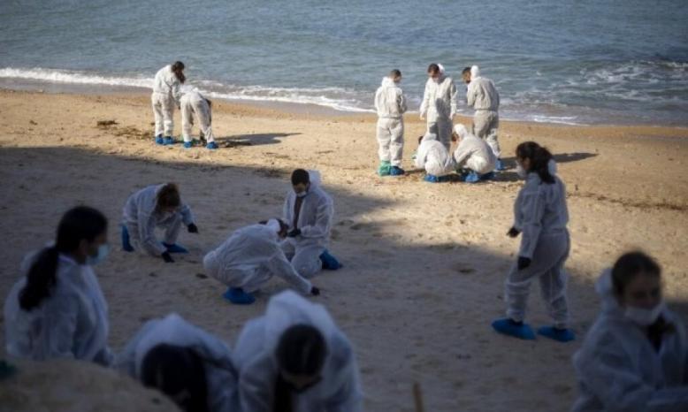 سلطات الاحتلال تتهم ايران بالتسرب النفطي امام شواطئ فلسطين المحتلة