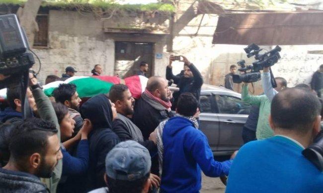 غزة تشيع جثمان الشهيدة أمل الترامسي
