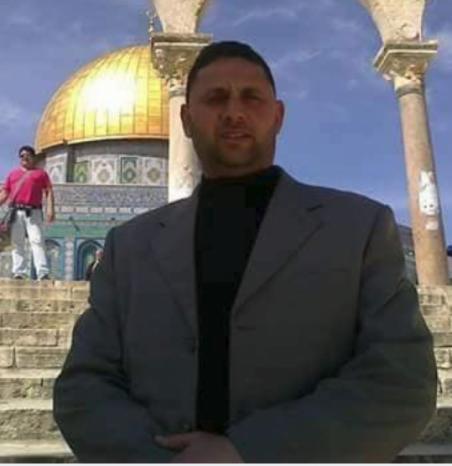 مصرع المواطن زاهر أبو كشك بسقوط صخرة عليه في مخيم الفارعة