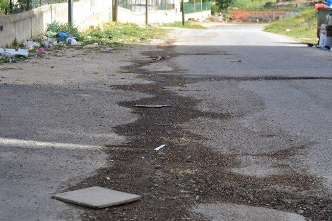 مياه الصرف الصحي في بيتونيا خطر يهدد صحة المواطنين